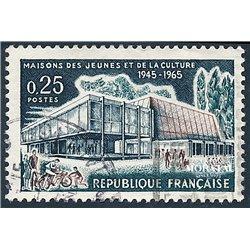 1965 Frankreich Mi# 1507  0. Jugend und Kulturhäuser (Michel)