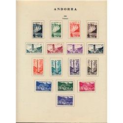[02] 1927/1994 Marokko  1 Album  Postfrische Sammlung ziemlich Vollständig. 4/5 Serie mit Falz Briefmarken in perfektem Zustand.