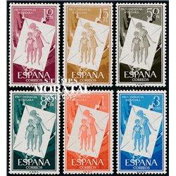 1956 Espagne 891/896  Pro Enfance Bienfaisance **MNH TTB Très Beau  (Yvert&Tellier)