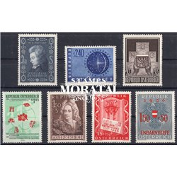 [22] 1956 Austria  Year Set Complete **MNH LUXURY   Stamps in Perfect Condition. LUXE ()
