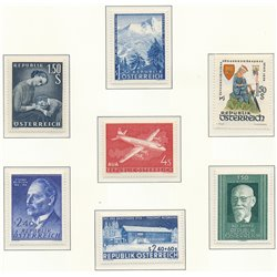[22] 1958 Austria  Year Set Complete **MNH LUXURY   Stamps in Perfect Condition. LUXE ()