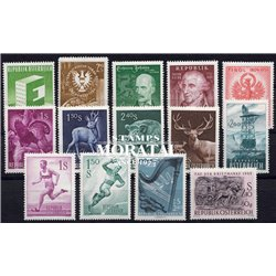 [22] 1959 Austria  Year Set Complete **MNH LUXURY   Stamps in Perfect Condition. LUXE ()