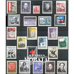 [22] 1965 Austria  Year Set Complete **MNH LUXURY   Stamps in Perfect Condition. LUXE ()