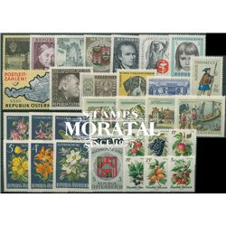 [22] 1966 Austria  Year Set Complete **MNH LUXURY   Stamps in Perfect Condition. LUXE ()