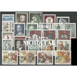 [22] 1968 Austria  Year Set Complete **MNH LUXURY   Stamps in Perfect Condition. LUXE ()