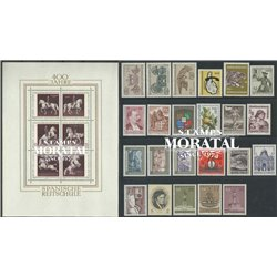 [22] 1972 Austria  Year Set Complete **MNH LUXURY   Stamps in Perfect Condition. LUXE ()