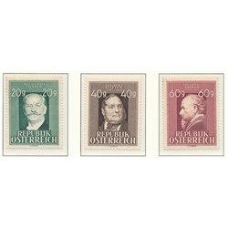 [23] 1948 Austria Sc 516/519 Anniversaries  ** MNH Very Nice Stamps in Perfect Condition. (Scott)
