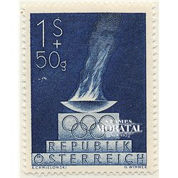 [23] 1948 Austria Sc B224 London Olympics  ** MNH Very Nice Stamps in Perfect Condition. (Scott)