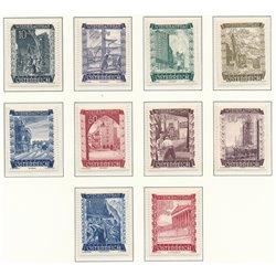 [23] 1948 Österreich Mi 858/867 Für den Wiederaufbau  ** Perfekter Zustand Briefmarken in perfektem Zustand. (Michel)
