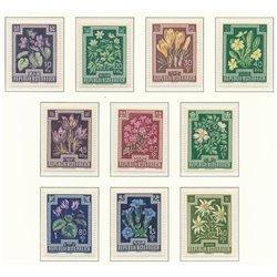 [23] 1948 Österreich Mi 868/877 Für Antituberculous Works  ** Perfekter Zustand Briefmarken in perfektem Zustand. (Michel)