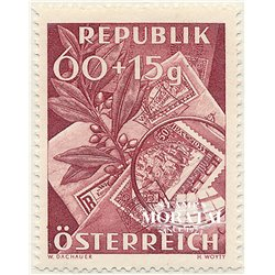 [23] 1949 Austria Sc B268 Stamps Day  ** MNH Very Nice Stamps in Perfect Condition. (Scott)