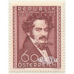 [23] 1949 Austria Sc 569 160th Anniversary of the Birth of Miniatutist Moritz Michel  ** MNH Very Nice Stamps in Perfect Conditi