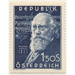 [23] 1951 Austria Sc 578 10th Anniversary of the Death of the Composer WilelmKienzl  ** MNH Very Nice Stamps in Perfect Conditio