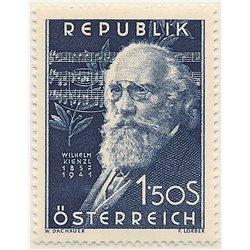 [23] 1951 Österreich Mi 967 10. Todestag des Komponisten WilelmKienzl  ** Perfekter Zustand Briefmarken in perfektem Zustand. (M