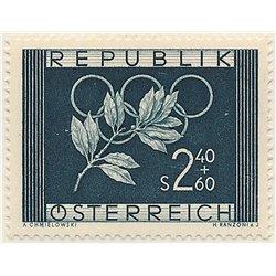 [23] 1952 Österreich Mi 969 Olympische Spiele in Oslo und Helsinki  ** Perfekter Zustand Briefmarken in perfektem Zustand. (Mich