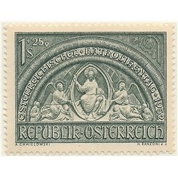 [23] 1952 Austria Sc B279 Austrian Catholic Day  ** MNH Very Nice Stamps in Perfect Condition. (Scott)