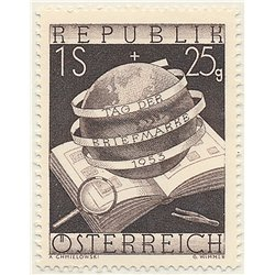 [23] 1953 Austria Sc B286 Stamps Day  ** MNH Very Nice Stamps in Perfect Condition. (Scott)