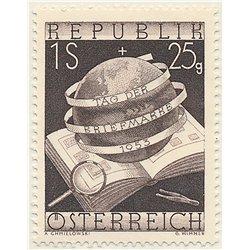 [23] 1953 Österreich Mi 995 Briefmarken Tag  ** Perfekter Zustand Briefmarken in perfektem Zustand. (Michel)