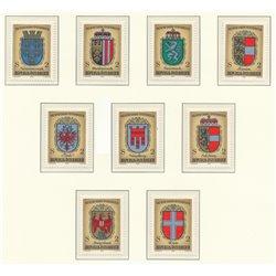 [23] 1976 Österreich Mi 1522/1530 Millennial der österreichischen Geschichte  ** Perfekter Zustand Briefmarken in perfektem Zust