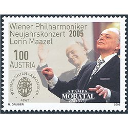 [23] 2005 Austria Sc 1976 Lorin Maazel  ** MNH Very Nice Stamps in Perfect Condition. (Scott)