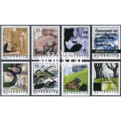 [23] 2005 Österreich Mi 2509/2516 Urlaub Österreich  ** Perfekter Zustand Briefmarken in perfektem Zustand. (Michel)