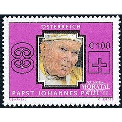 [23] 2005 Österreich Mi 2521 Johannes Paul II  ** Perfekter Zustand Briefmarken in perfektem Zustand. (Michel)