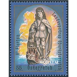 [23] 2005 Austria Sc 2009 Saint florian  ** MNH Very Nice Stamps in Perfect Condition. (Scott)