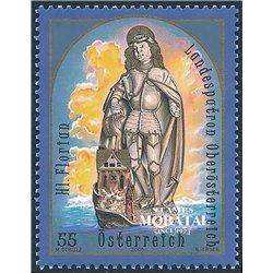 [23] 2005 Österreich Mi 2527 Heiliger Florian  ** Perfekter Zustand Briefmarken in perfektem Zustand. (Michel)