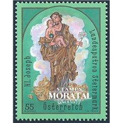 [23] 2005 Österreich Mi 2534 Saint Joseph  ** Perfekter Zustand Briefmarken in perfektem Zustand. (Michel)