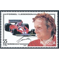 [23] 2005 Austria Sc 2016 Sport. Niki Lauda  ** MNH Very Nice Stamps in Perfect Condition. (Scott)