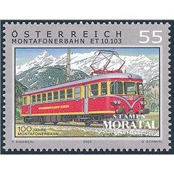 [23] 2005 Österreich Mi 2547 Triebwagenzug ET 10.103  ** Perfekter Zustand Briefmarken in perfektem Zustand. (Michel)