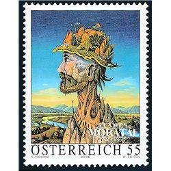 """[23] 2005 Österreich Mi 2549 Carl Hodina """"Waldmeister""""  ** Perfekter Zustand Briefmarken in perfektem Zustand. (Michel)"""