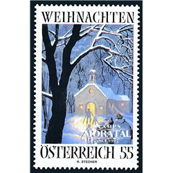[23] 2005 Austria Sc 2031 Advent  ** MNH Very Nice Stamps in Perfect Condition. (Scott)
