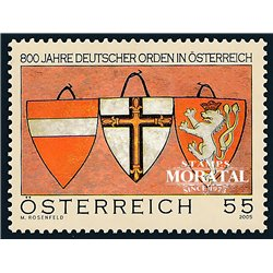 [23] 2005 Austria Sc 2032 Blazon  ** MNH Very Nice Stamps in Perfect Condition. (Scott)