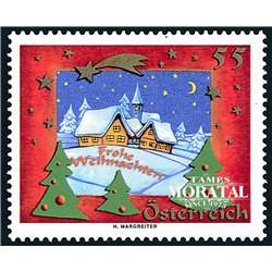 [23] 2005 Austria Sc 2033 Christmas  ** MNH Very Nice Stamps in Perfect Condition. (Scott)