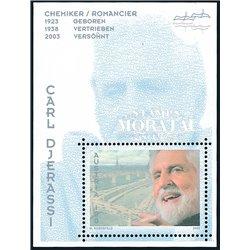 [23] 2005 Österreich Mi BL-27 Carl Djerassi  ** Perfekter Zustand Briefmarken in perfektem Zustand. (Michel)