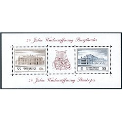 [23] 2005 Austria Sc 2027 National Opera Theater  ** MNH Very Nice Stamps in Perfect Condition. (Scott)