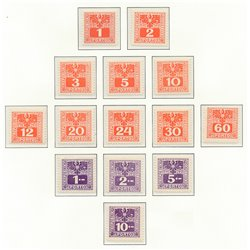 [23] 1945 Austria Sc J-175-188   ** MNH Very Nice Stamps in Perfect Condition. (Scott)