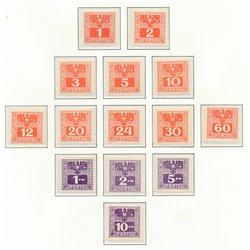 [23] 1945 Österreich Mi P-175/188   ** Perfekter Zustand Briefmarken in perfektem Zustand. (Michel)