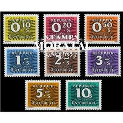 [23] 1985 Österreich Mi P-260/267   ** Perfekter Zustand Briefmarken in perfektem Zustand. (Michel)