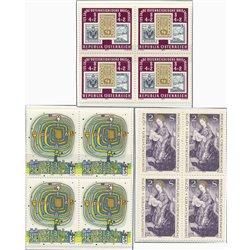 [23] 1975 Österreich Mi 1503, 1504, 1505 B-4 Navidad+Dia Sello+Arte  ** Perfekter Zustand Briefmarken in perfektem Zustand. (Mic
