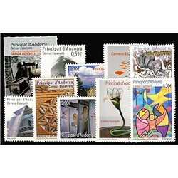 [21] 2012 Spanish Andorra  Year Set Complete **MNH LUXURY   Stamps in Perfect Condition. LUXE ()