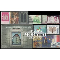 [21] 2016 Spanish Andorra  Year Set Complete **MNH LUXURY   Stamps in Perfect Condition. LUXE ()