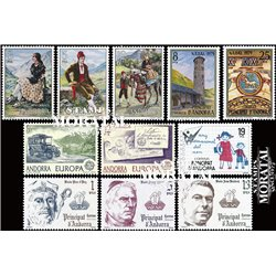 [21] 1979 Spanish Andorra  Year Set Complete **MNH LUXURY   Stamps in Perfect Condition. LUXE ()