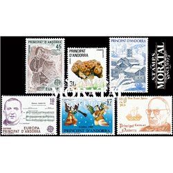 [21] 1985 Spanish Andorra  Year Set Complete **MNH LUXURY   Stamps in Perfect Condition. LUXE ()