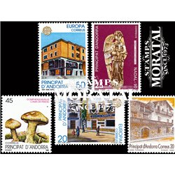 [21] 1990 Spanish Andorra  Year Set Complete **MNH LUXURY   Stamps in Perfect Condition. LUXE ()