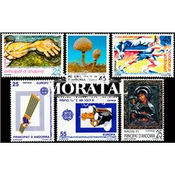 [21] 1991 Spanish Andorra  Year Set Complete **MNH LUXURY   Stamps in Perfect Condition. LUXE ()