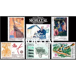 [21] 1992 Spanish Andorra  Year Set Complete **MNH LUXURY   Stamps in Perfect Condition. LUXE ()