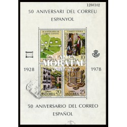[24] 1976 Spanish Andorra Sc 94/95 Montreal Olympics  ** MNH Very Nice Stamps in Perfect Condition. (Scott)