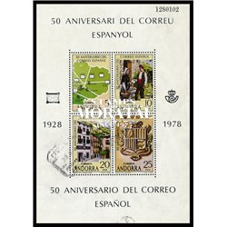 [24] 1977 Spanish Andorra Sc 98/99 Europe  ** MNH Very Nice Stamps in Perfect Condition. (Scott)